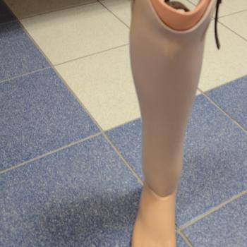 B 007 Proteza ostateczna skorupowa podudzia
