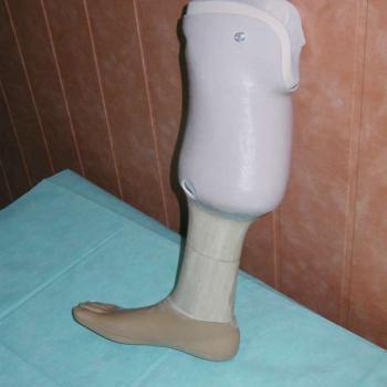 proteza podudzia tymczasowa